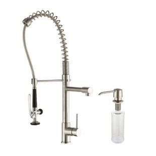 Kraus Pull Down Touch Single Handle Kitchen Faucet
