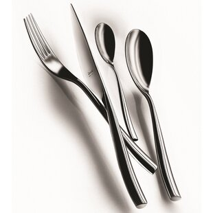 Arte 20 Piece 18/10 Stainless Steel Flatware Set, Service for 4
