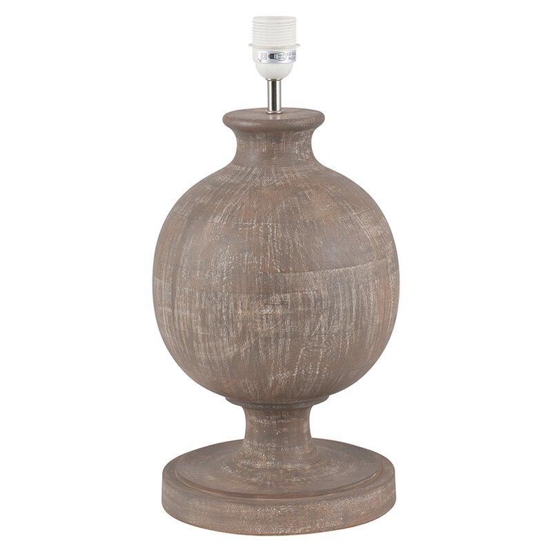 Brambly cottage catherine rock bulbous wood table lamp base catherine rock bulbous wood table lamp base aloadofball Gallery