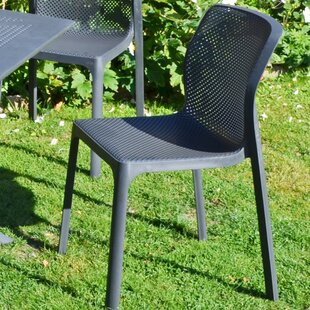Read Reviews Dubreuil Stacking Garden Chair (Set Of 2)
