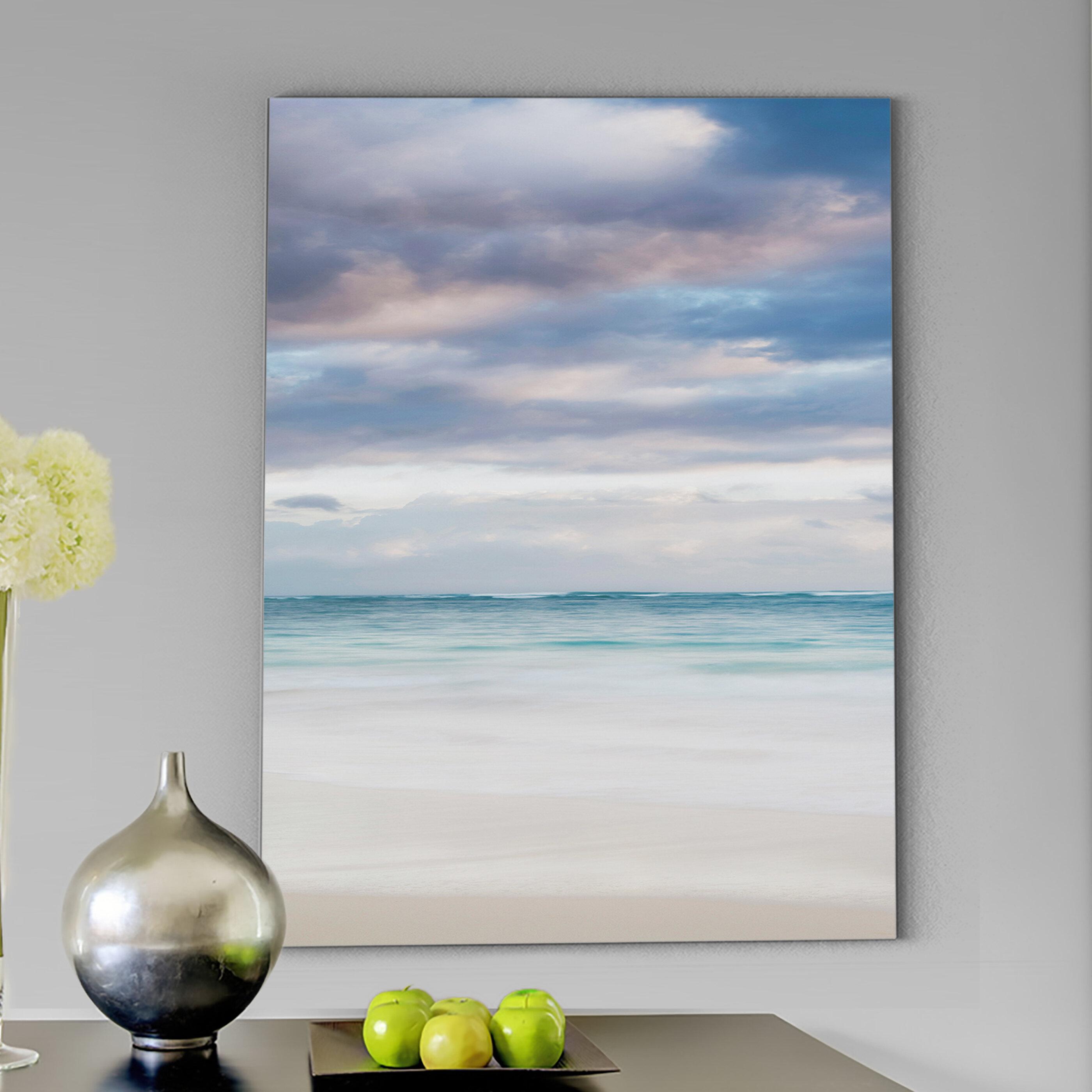 Bavaro Beach At Dawn Detail Ii Wrapped Canvas Print On Canvas Reviews Joss Main