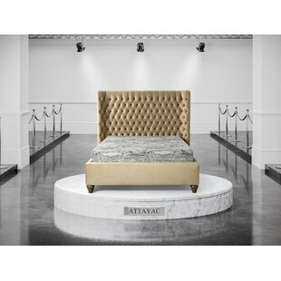 Church Upholstered Bed Frame By Astoria Grand