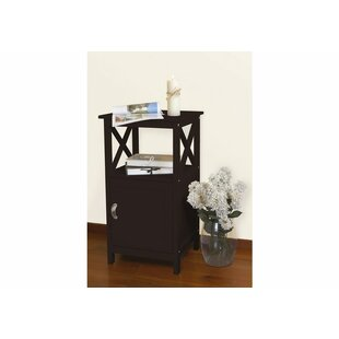 Haskins End Table With Storage