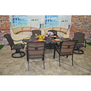Darby Home Co Sherie 7 Piece Dining Set