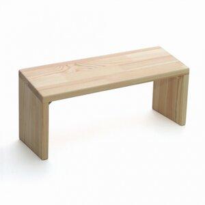Küchenbank Meditation aus Holz von Lotus Design