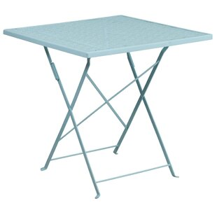Truett Metal Dining Table by T..