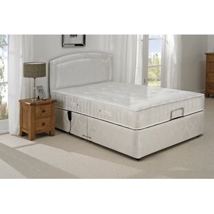 Colindale Upholstered Adjustable Bed With Mattress By Rosalind Wheeler