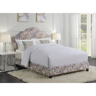 Hickey Queen Upholstered Panel Bed