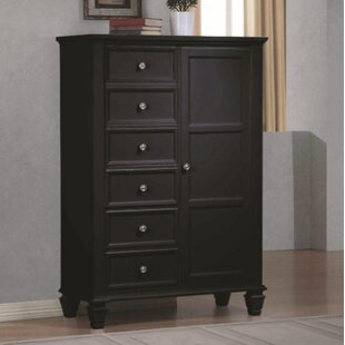 Darby Home Co Carisbrooke 8 Drawer Gentleman..