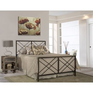 Millwood Pines King Tuohy Panel Bed