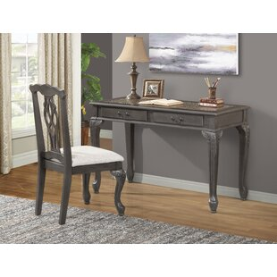 Trowbridge Writing Desk and Chair Set (Set of 2)