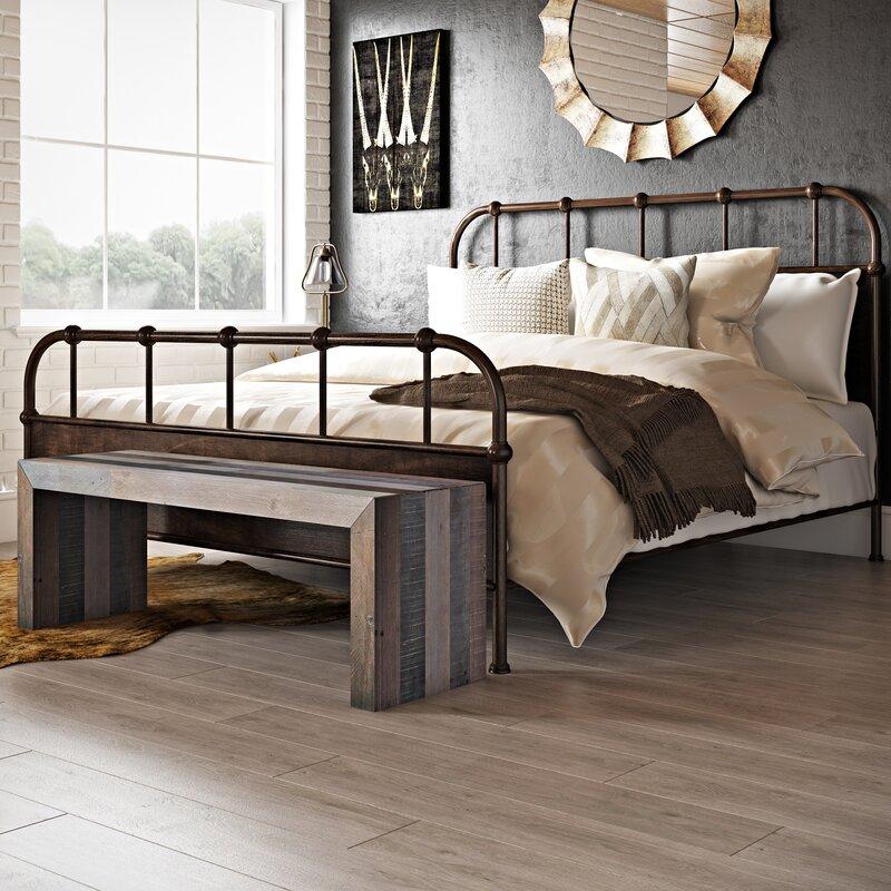 Claremore Panel Bed