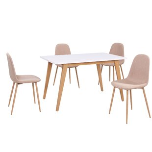 Eddie 5 Pieces Dining Set by George Oliver