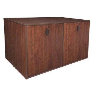 Latitude Run Linh Stand Up Quad Wood Storage Cabinet