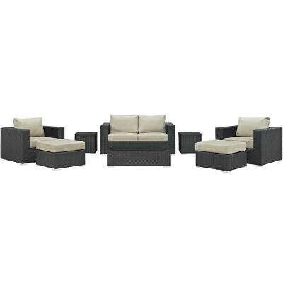 dd79ff92c65 Mission Hills Redondo 4 Piece Sofa Set with Cushions   Reviews