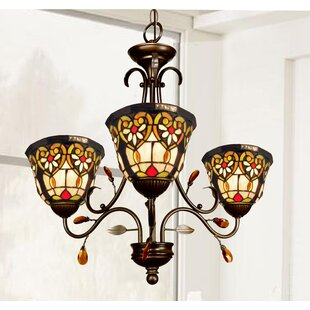 Astoria Grand Saldana 3-Light Shaded Chandelier