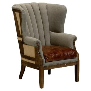 Marburg Wingback Chair by Sarreid Ltd Wonderful