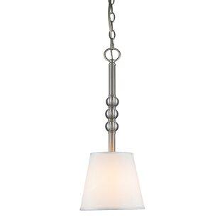 Bain 1-Light Cone Pendant by Charlton Home