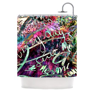 Crazy Day Single Shower Curtain