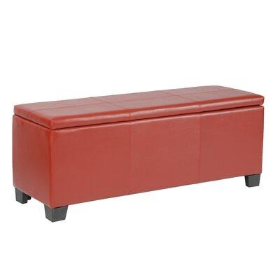 Miraculous Martinez Wilson Faux Leather Storage Bench Ebern Designs Creativecarmelina Interior Chair Design Creativecarmelinacom