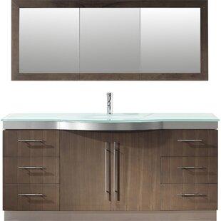 Diara 72 Single Bathroom Vanity Set with Mirror