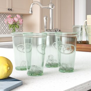 Harriett Water Faucet Highball Glasses (Set of 6)