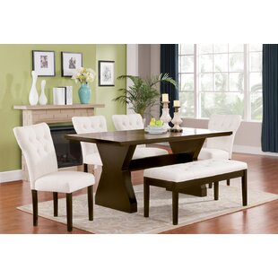 Cheatham 6 Piece Dining Set DarHome Co