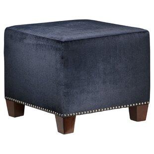 Arthur Cube Ottoman by Skyline Furniture