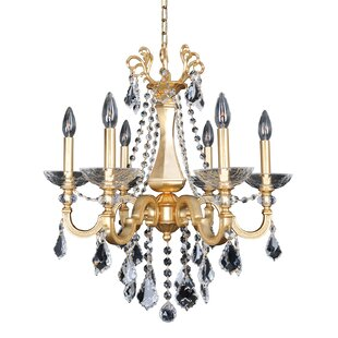 Allegri by Kalco Lighting Barret 6-Light Candle Style Chandelier