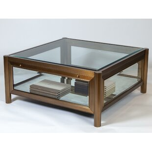 Apothecary Coffee Table with Tray Top
