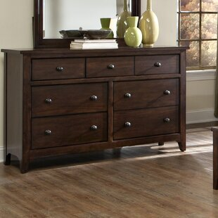 Pasley 7 Drawer Standard Dresser