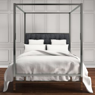 Alek Upholstered Canopy Bed by Willa Arlo Interiors