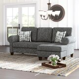 Hraztan 86 Rolled Arm Sofa Chaise by Winston Porter