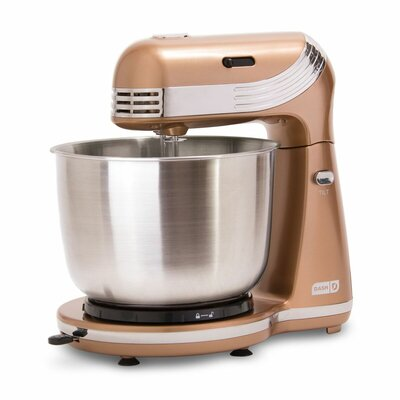 DASH Dash Everyday 6 Speed 2.5 Qt. Stand Mixer  Color: Copper