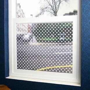Diamonds Sheer Decorative Window Film by Stick Pretty