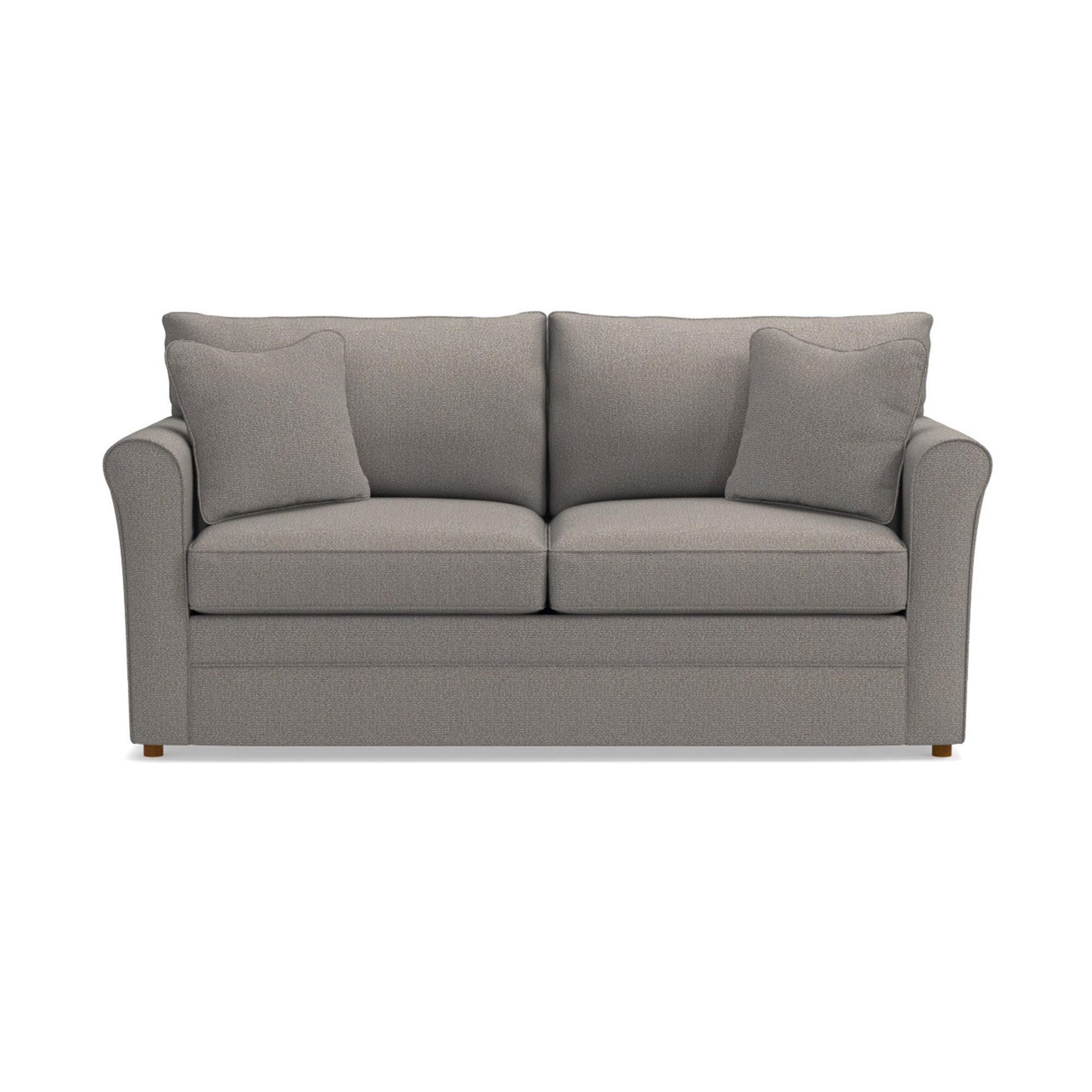 Picture of: La Z Boy Leah 74 Rolled Arm Sofa Bed Reviews