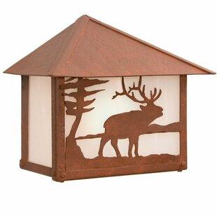 Steel Partners Elk 1-Light Outdoor Flush Mount