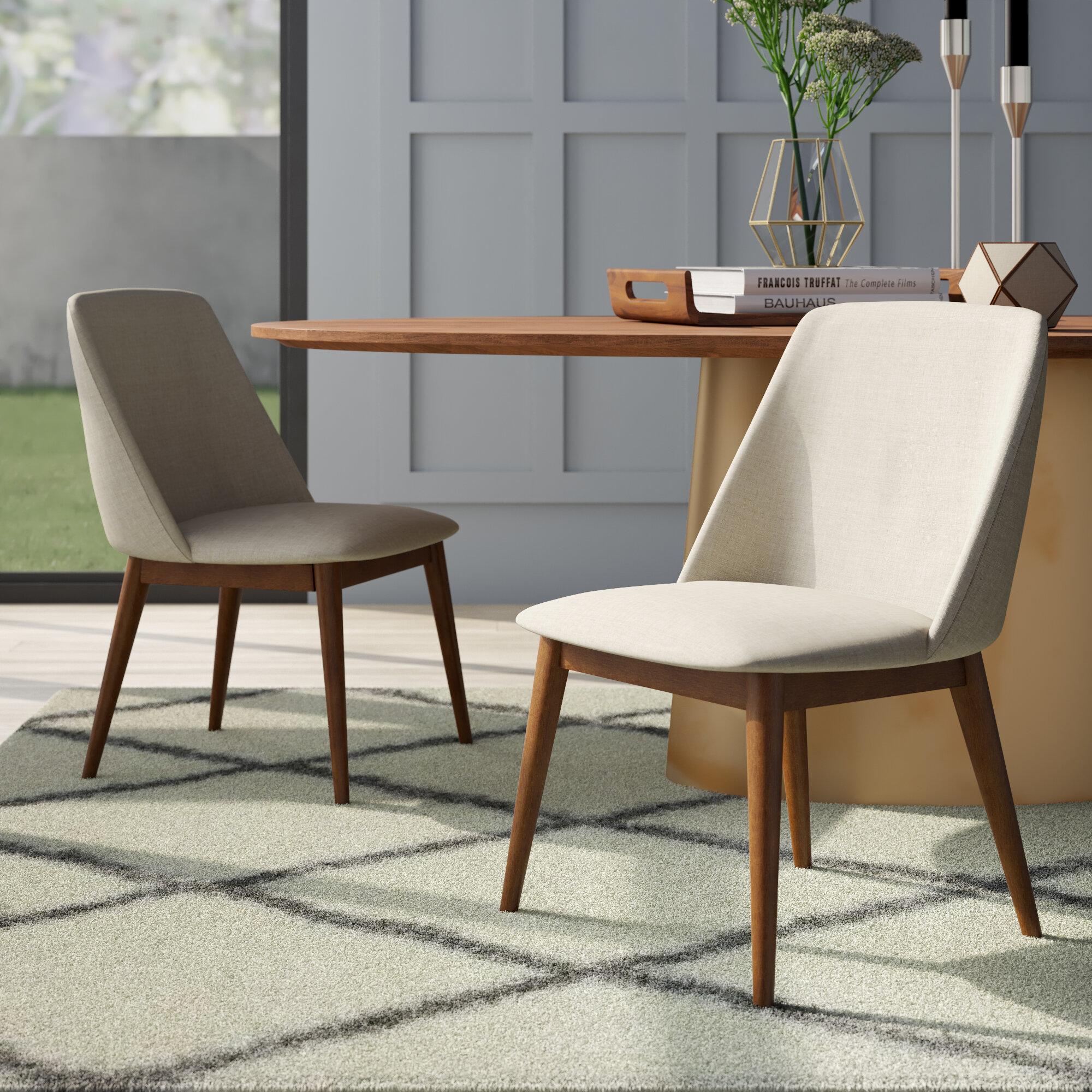 Mercury Row Curtiss Side Chair In Gray Reviews Wayfair