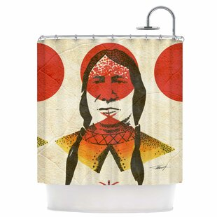 Indian Single Shower Curtain