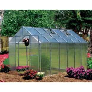 Riverstone Industries Monticello 8 Ft. W x 12 Ft. D Greenhouse