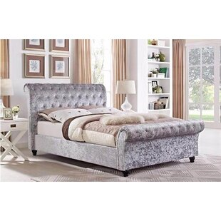 Angelique Upholstered Sleigh Bed By Willa Arlo Interiors