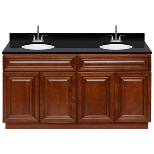 Leyburn 60 Double Bathroom Vanity Set by Charlton Home