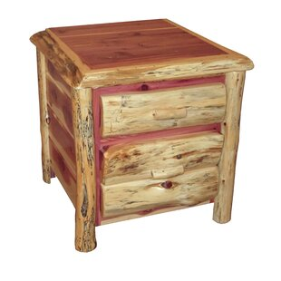 Dorantes 2 Drawer Nightstand