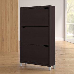18 Pair Shoe Storage Cabinet By Ebern Designs