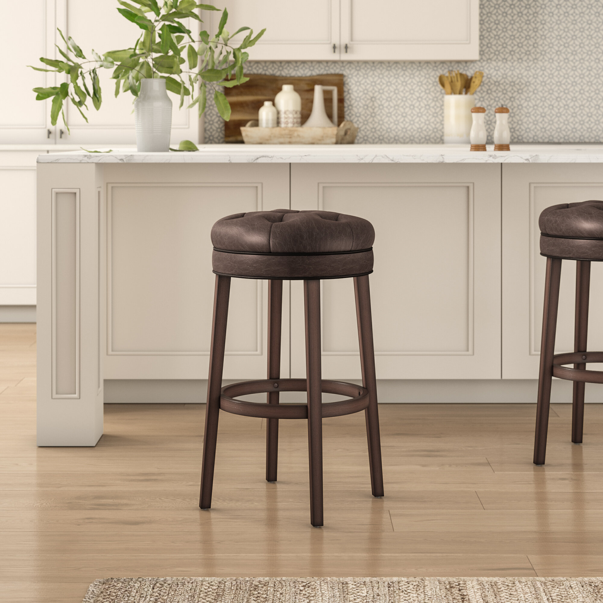 Fabulous Saundra Swivel Bar Stool Caraccident5 Cool Chair Designs And Ideas Caraccident5Info