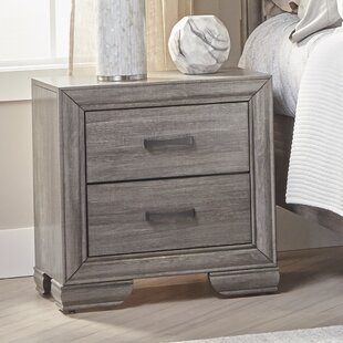Ophelia & Co. Chicora 2 Drawer Nightstand