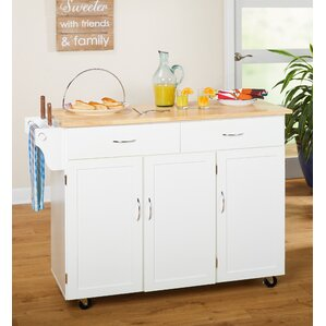 kitchen island furniture. Sayers Kitchen Island with Wood Top Islands  Carts You ll Love Wayfair
