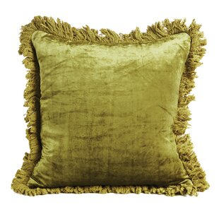 Palm Springs Velvet Throw Pillow