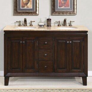 Camilo 55 Double Bathroom Vanity Set ByDarby Home Co
