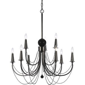 candice olson shelby 9light candlestyle chandelier